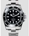 Rolex Submariner No Date Acier Inoxydable Noir Cadran114060