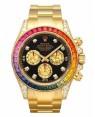 Rolex Daytona Arc-en-ciel  Noir Cadran116598 RBOW