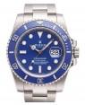 Rolex Submariner Date Bleu Lunette Et Cadran116619LB