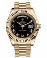 Rolex Day Date II President Jaune Or Noir Cadran218238 BKRP