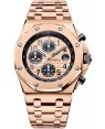 Audemars Piguet Royal Oak Offshore Chronographe 42mm Or Rose Homme 26470OR.OO.1000OR.01