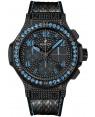 Replique Montre Hublot Big Bang Black Fluo Bleu 41mm 341.SV.9090.PR.0901