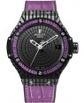Replique Montre Hublot Big Bang Tutti Frutti Purple Caviar Femme 346.CD.1800.LR.1905