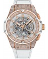Hublot King Power Unico King Gold White Pave 48mm 701.OE.0128.GR.1704