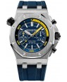Audemars Piguet Royal Oak Offshore Diver Chronographe Bleu Cadran 26703ST.OO.A027CA.01