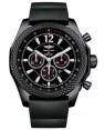 Breitling Bentley Barnato Chronographe Onyx Cadran Noir Noir Caoutchouc Hommes M4139024-BB85SS