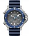 Panerai Submersible Guillaume Néry Edition 47mm Titane Bleu Homme PAM00982