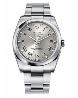 Rolex Air-King Domed Lunette Argent Cadran114200 SRO