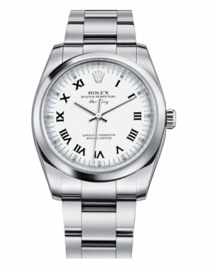 Rolex Air-King Domed Lunette Argent Cadran114200 WRO