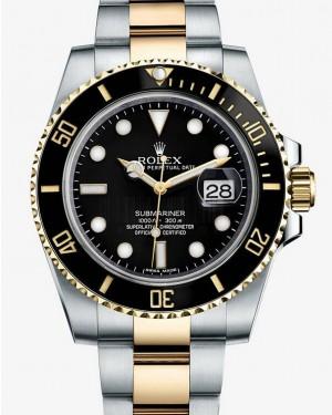 Rolex Submariner Date Two Tone Noir Cadran116613LN