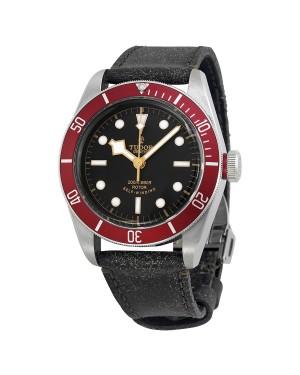 Tudor Heritage Black Bay Noir Cuir Hommes 79220R-BKLS