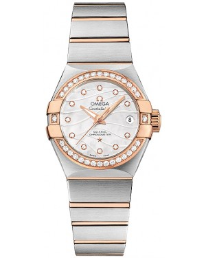 Omega Constellation Pluma Co-Axial 123.25.27.20.55.005