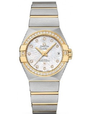 Omega Constellation Co-Axial 31mm 123.25.27.20.55.007