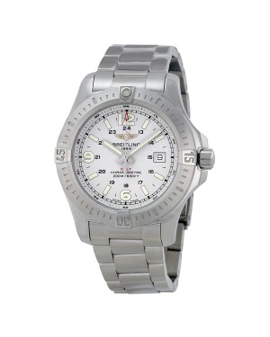 Breitling Colt Cadran Argente Acier inoxydable Hommes A7438811-G792SS