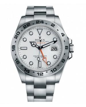 Rolex Explorer II Acier Inoxydable Blanc Cadran216570 W