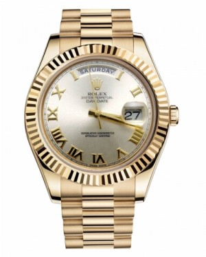 Rolex Day Date II President Jaune Or Argent Cadran218238 SRP