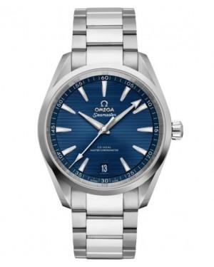 Omega Seamaster Aqua Terra Montre Acier Cadran Bleu 220.10.41.21.03.004