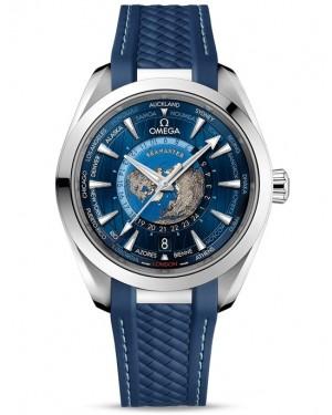 Omega Seamaster Aqua Terra Worldtimer Montre Homme 220.12.43.22.03.001