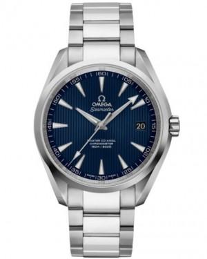 Omega Seamaster Aqua Terra Montre Acier Cadran Bleu 231.10.42.21.03.003