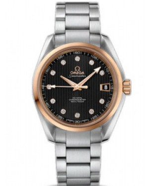 Omega Seamaster Aqua Terra Mid-Size Chronometer Automatique 38.5mm Hommes 231.20.39.21.51.003