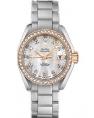 Omega Seamaster Aqua Terra 30mm Automatique Chronometer Dames 231.25.30.20.55.003