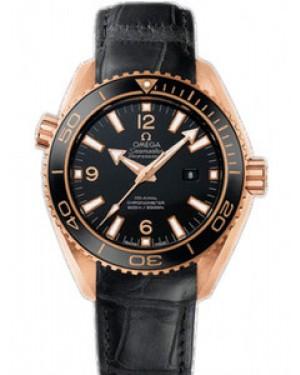 Omega Seamaster Planet Ocean 37.5mm Auto Chronometer Cadran Noir Hommes 232.63.38.20.01.001