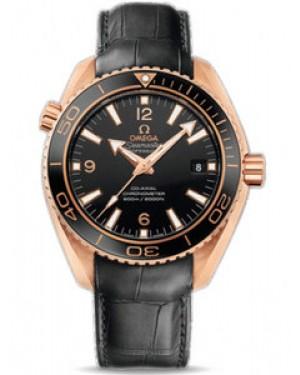 Omega Seamaster Planet Ocean 42mm Automatique Chronometer Cadran Noir Hommes 232.63.42.21.01.001