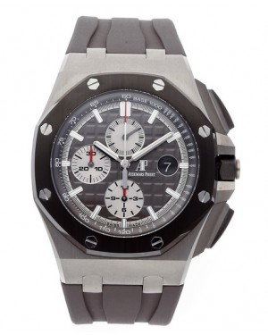 Audemars Piguet Royal Oak Offshore Chronographe Gris Automatique Homme 26400IO.OO.A004CA.01