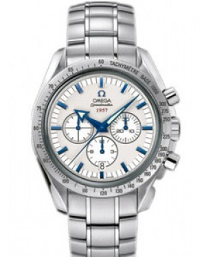 Omega Speedmaster Broad Arrow 42mm Automatique Cadran Argente Hommes 321.10.42.50.02.001