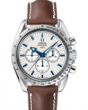 Omega Speedmaster Broad Arrow 42mm Automatique Blanc Dial Hommes 321.12.42.50.02.001