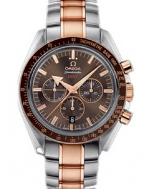 Omega Speedmaster Broad Arrow 42mm Automatique Cadran Brun Hommes 321.90.42.50.13.001