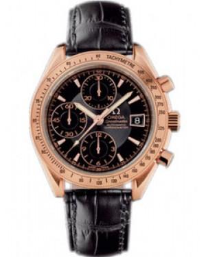 Omega Speedmaster 40mm Automatique Chronographe Date Cadran Noir Hommes 323.53.40.40.01.001