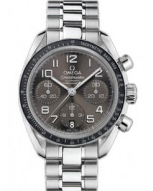 Omega Speedmaster 38mm Automatique Chronometer Cadran Gris Hommes 324.30.38.40.06.001