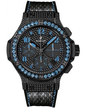 Replique Montre Hublot Big Bang Black Fluo Bleu 41mm 341.SV.9090.PR.0901