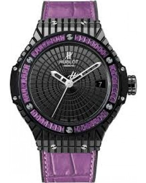 Replique Montre Hublot Big Bang Tutti Frutti Purple Caviar Femme 346.CD.1800.LR.1905