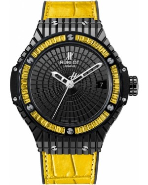Replique Montre Hublot Big Bang Tutti Frutti Lemon Caviar 346.CD.1800.LR.1915