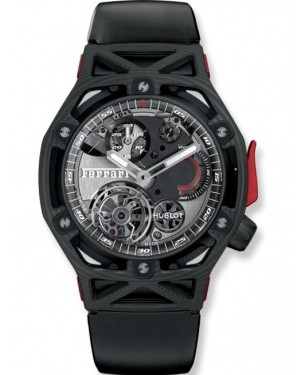 Hublot Techframe Ferrari Tourbillon Chronographe Carbone Homme 408.QU.0123.RX