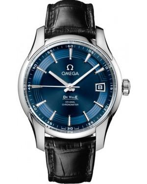 Omega De Ville Hour Vision Bleu Homme 431.33.41.21.03.001