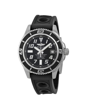Breitling Superocean Cadran Noir Hommes A1736402-BA28BKOR