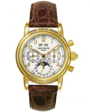 Patek Philippe Grand Complications Split Seconds Or Jaune 5004J