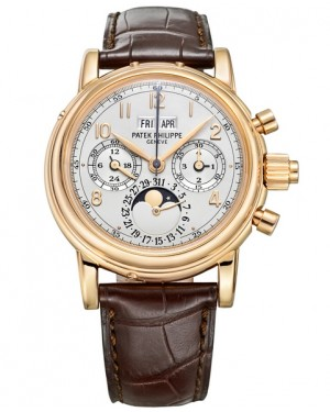 Patek Philippe Grand Complications Split Seconds Or Rose 5004R
