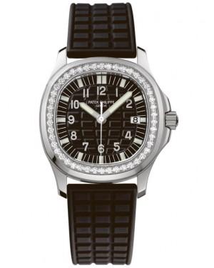 Patek Philippe Aquanaut Quartz Acier Diamants Femme 5067A-001
