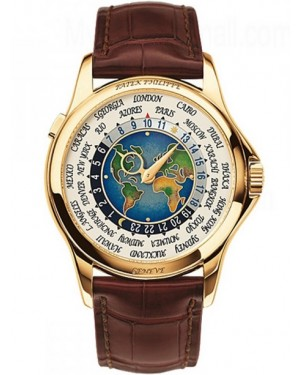 Patek Philippe Complications World Time Or Jaune Homme 5131J-001