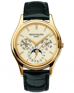 Patek Philippe Grand Complications Calendrier Perpetuel Or Jaune Homme 5140J-001