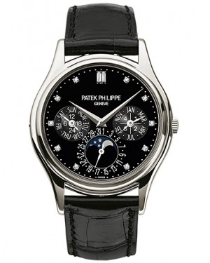 Patek Philippe Grand Complications Calendrier Perpetuel Platine Homme 5140P-013