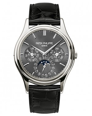 Patek Philippe Grand Complications Calendrier Perpetuel Platine Homme 5140P-017