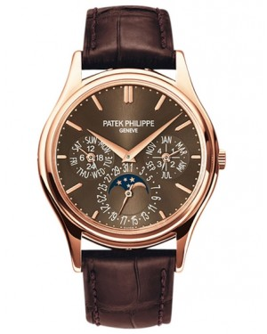 Patek Philippe Grand Complications Calendrier Perpetuel Or Rose Homme 5140R-001