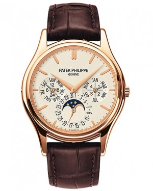 Patek Philippe Grand Complications Calendrier Perpetuel Or Rose Homme 5140R-011
