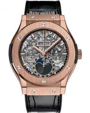 Hublot Classic Fusion Aerofusion Moonphase King Gold Homme 517.OX.0180.LR