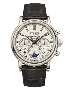 Patek Philippe Grand Complications Split-Seconds Chronographe Argent Homme 5204P-001